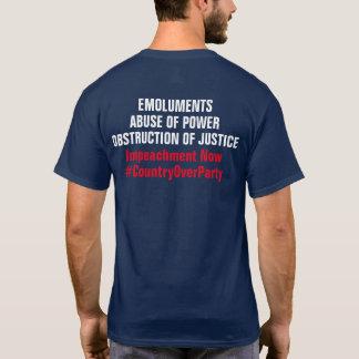 Camiseta Abuso da obstrução dos lucros da destituição do