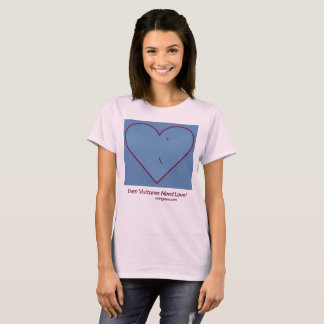 Camiseta Abutres dos namorados: Mesmo os abutres precisam o