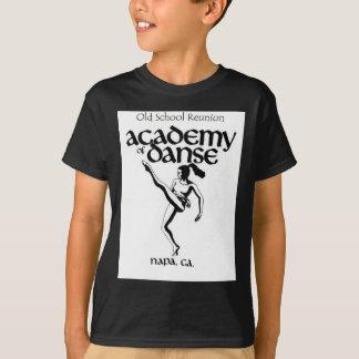 Camiseta Academia da velha escola da reunião da dança