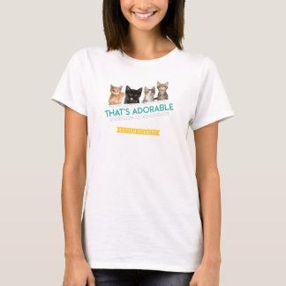 Camiseta Academia do gatinho que é adorável! T