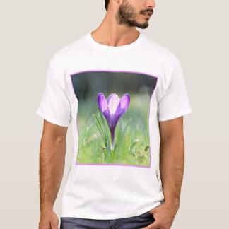 Camiseta Açafrão roxo no primavera 03,3