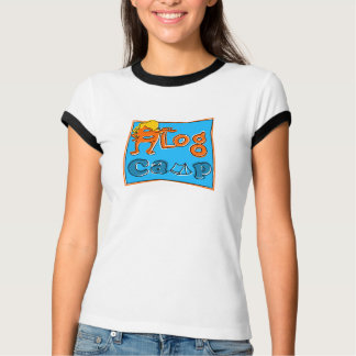 Camiseta acampamento 2 do blogue