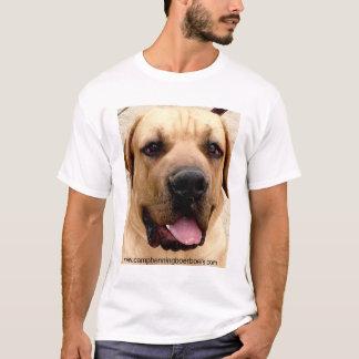 Camiseta Acampamento Benning Boerboels