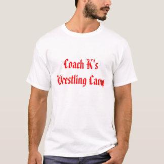Camiseta Acampamento da luta do k do treinador