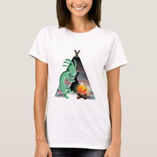 Camiseta Acampamento do Tipi do nativo americano de