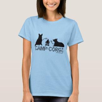 Camiseta Acampamento T cabido Corgi