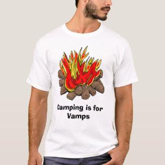 Camiseta Acampar é para Vamps