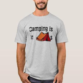 Camiseta Acampar está nas BARRACAS