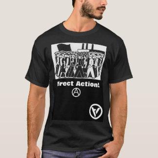 Camiseta ação direta! t-shirt