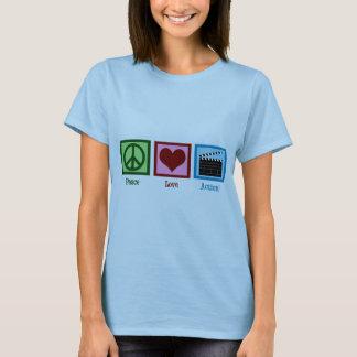Camiseta Ação do amor da paz!