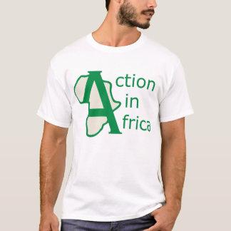 Camiseta Ação no T de África