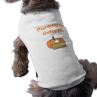 Camiseta Acção de graças Cutie
