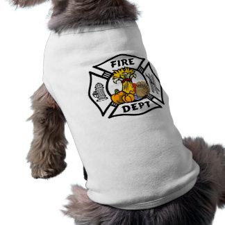 Camiseta Acção de graças do sapador-bombeiro