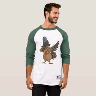Camiseta Acção de graças engraçada de toque ligeiro do
