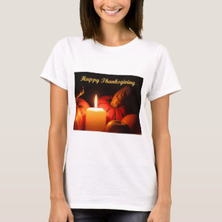 Camiseta Acção de graças feliz
