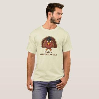 Camiseta Acção de graças feliz, t-shirt engraçado do dia de