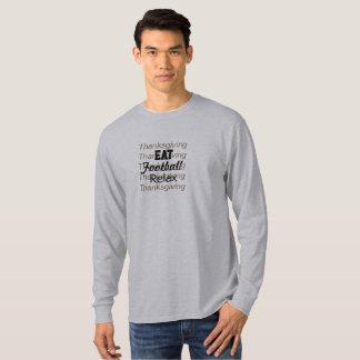 Camiseta Acção de graças para fazer a lista