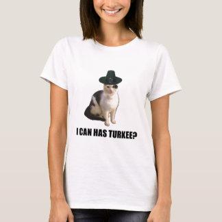 Camiseta Acção de graças Turquia Lolcat