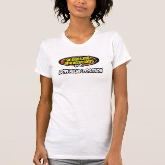 Camiseta aceitando pedidos para: