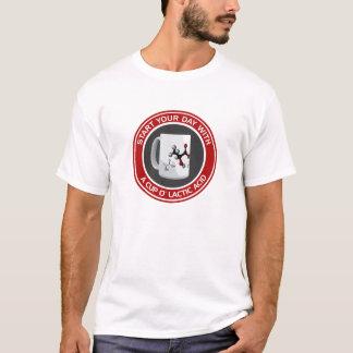 Camiseta Ácido láctico de O do copo