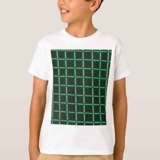 Camiseta Ácido Polylactic sob o microscópio
