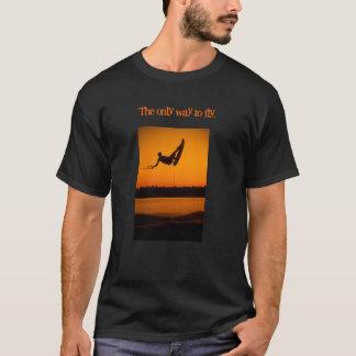 Camiseta Acorde Boading Wakeboarding a única maneira de
