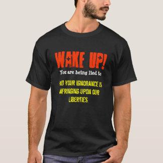 Camiseta Acorde! Você está sendo encontrado a e sua