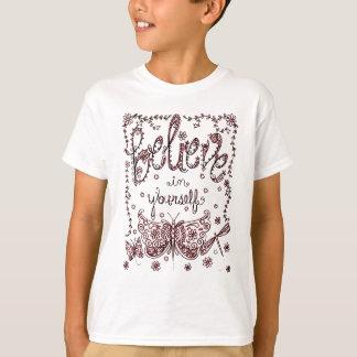 Camiseta Acredite em o senhor mesmo 2