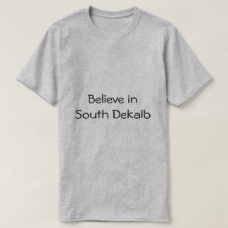 Camiseta Acredite no bem estar sul da família da comunidade
