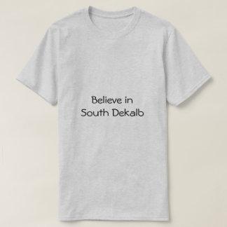 Camiseta Acredite no obrigado sul de Dekalb uma bobina