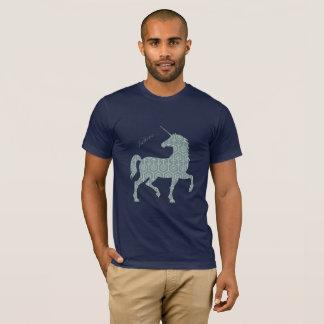 Camiseta Acredite o cavalo mágico Clipart da fantasia do
