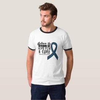 Camiseta Acredite presentes do apoio da consciência da