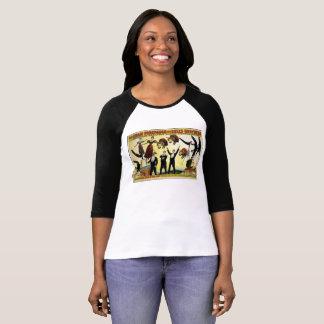 Camiseta Acrobatas de circo da propaganda do Tshirt do