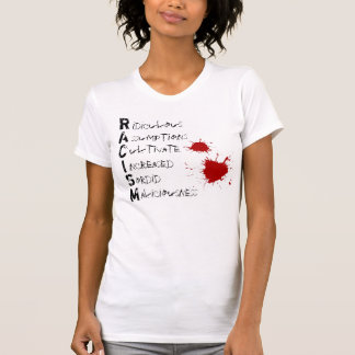 Camiseta Acrônimo do RACISMO