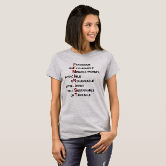 Camiseta Acrônimo feminista