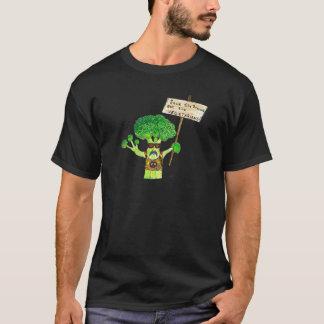 Camiseta Activista cómico dos brócolos