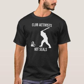 Camiseta Activistas do clube, não selos