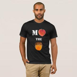 Camiseta Acuse o t-shirt americano alaranjado do roupa