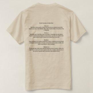 Camiseta Acuse o t-shirt da constituição do trunfo