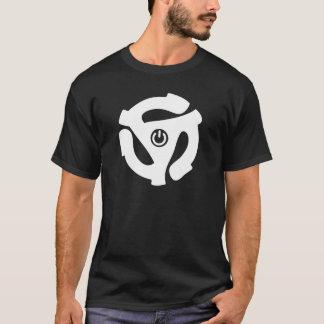 Camiseta Adaptador do poder de 45 RPM