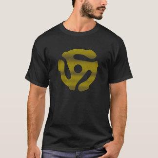 Camiseta adaptador t escuro de 45 inserções