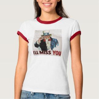 Camiseta Adeus EUA