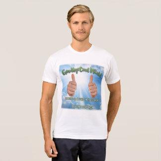 """Camiseta Adeus o mundo cruel """"manuseia acima"""" do T"""