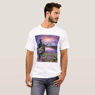 """Camiseta Adeus """"T cruel do dia novo"""" do mundo"""
