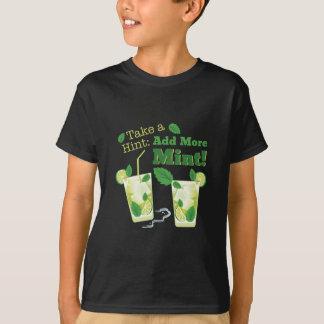 Camiseta Adicione mais hortelã!