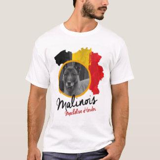 Camiseta Adicione seu belga Malinois da foto