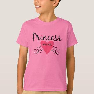 Camiseta Adicione sua princesa conhecida T-shirt