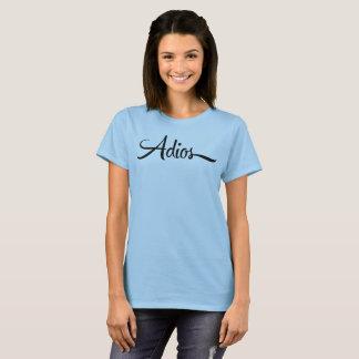 Camiseta Adios
