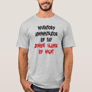 Camiseta Administrador do inventário do assassino do zombi