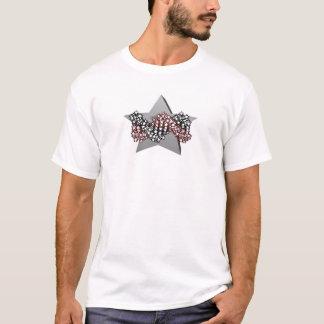 Camiseta ADN DA ESTRELA. da versão parte traseira pequena